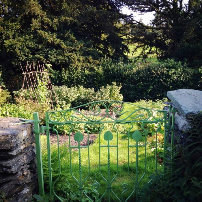 Gate to the vegetable Garden
