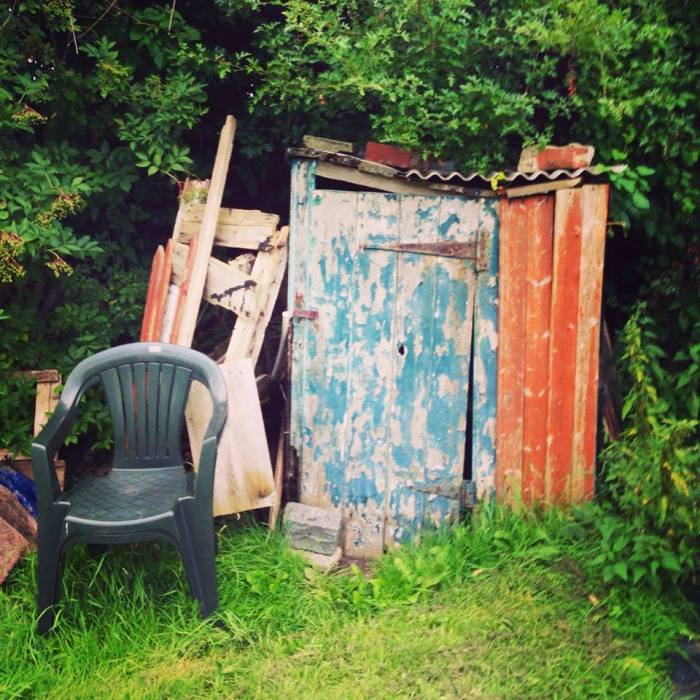 Quirky character shed