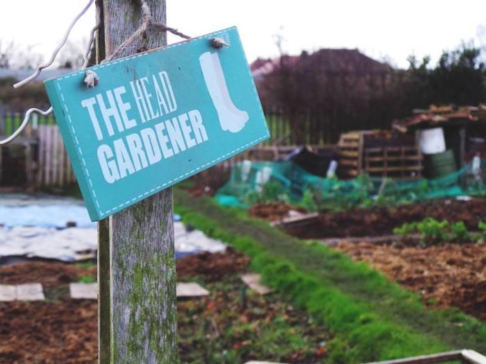Picture of the week~ Head Gardener
