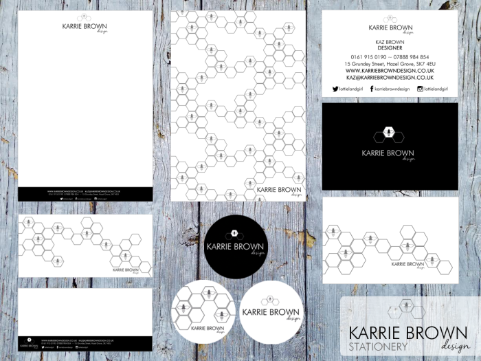 Karrie Brown Design Stationery
