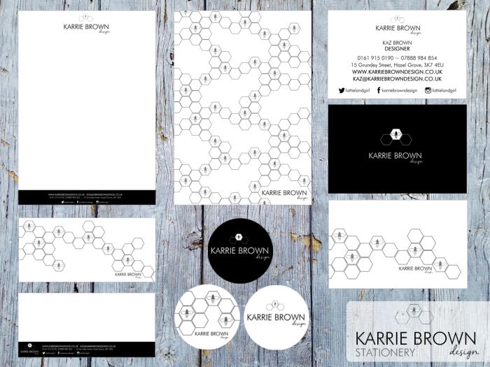 Karrie Brown Design Stationery