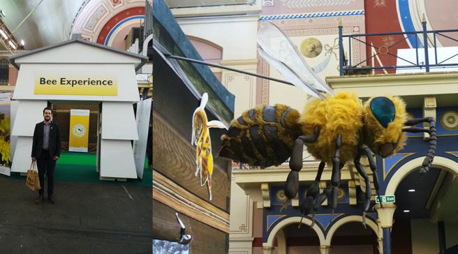 The Edible Garden Show  Bee Experience