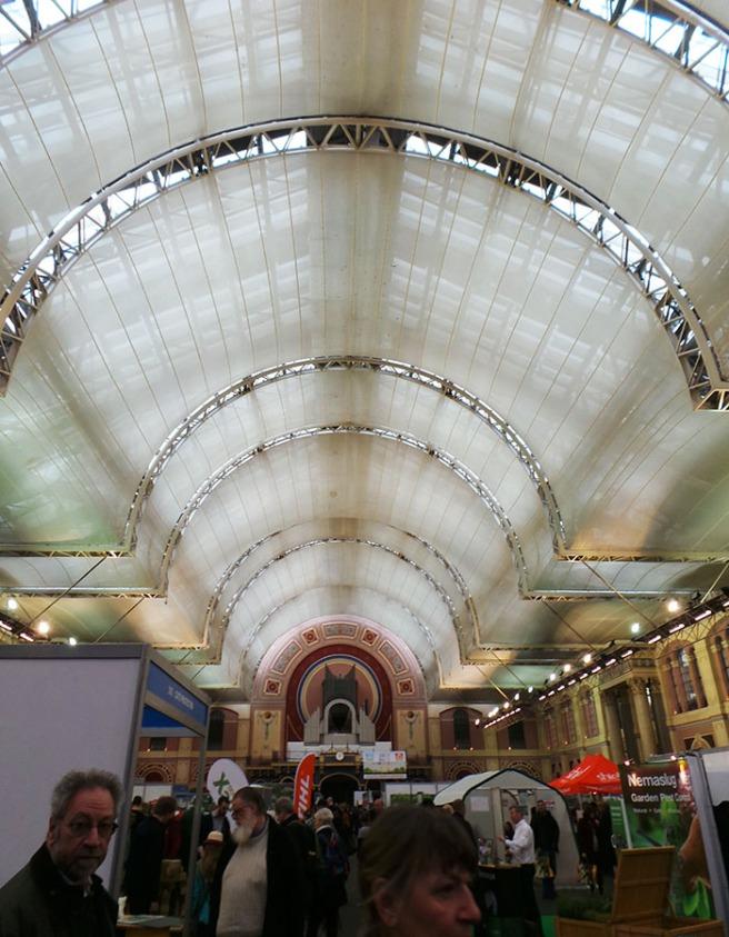 The Edible Garden Show Exhibition Hall