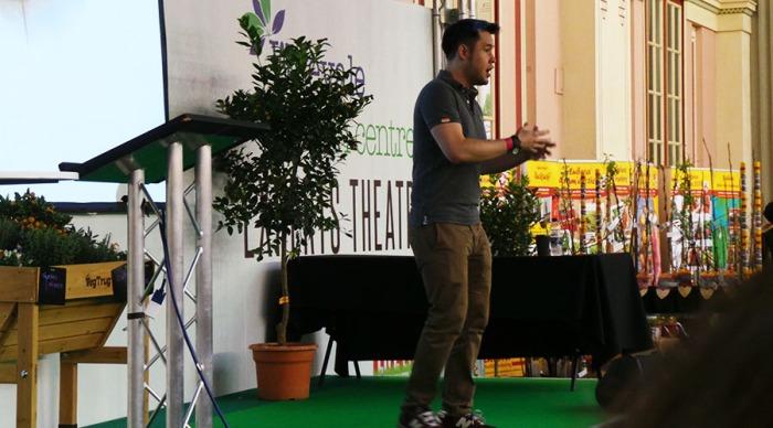 The Edible Garden Show James Wong