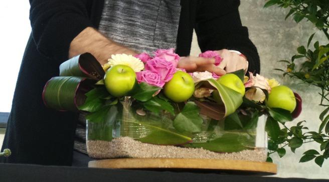 The Edible Garden Show JM First display
