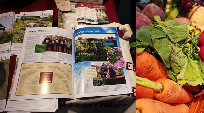The Edible Garden Show Nationail Allotment Society
