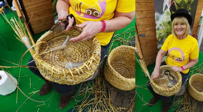 The Edible Garden Show Skep Making
