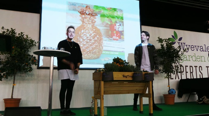 The Edible Garden Show Skinny Jean Gardeners
