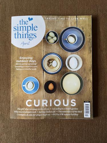 The Edible Garden Show THe Simple Things April Issue