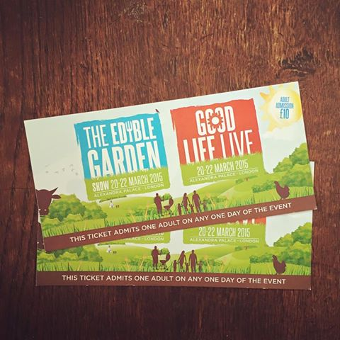The Edible Garden Show Tickets