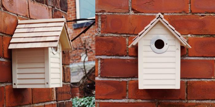 Bird House In The Garden by Kaz Brown