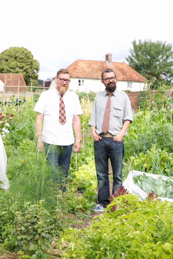 Gary Murdock and Pete Taylor Semi-finalists on series one of BBC Two's The Big Allotment Challenge low res