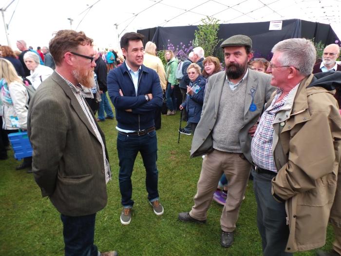 Holker Garden Festival | James Wong, Gary, Pete and Alex