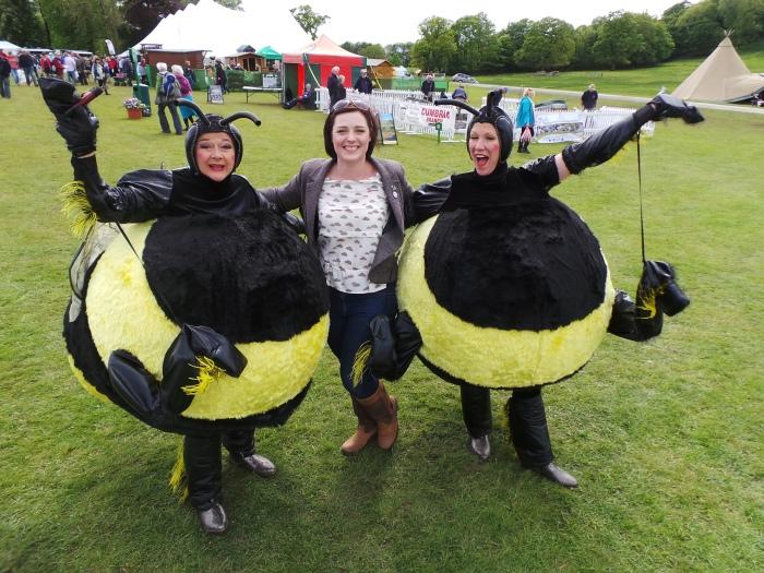 Holker Garden Festival | Lottie Land Girl and the bees