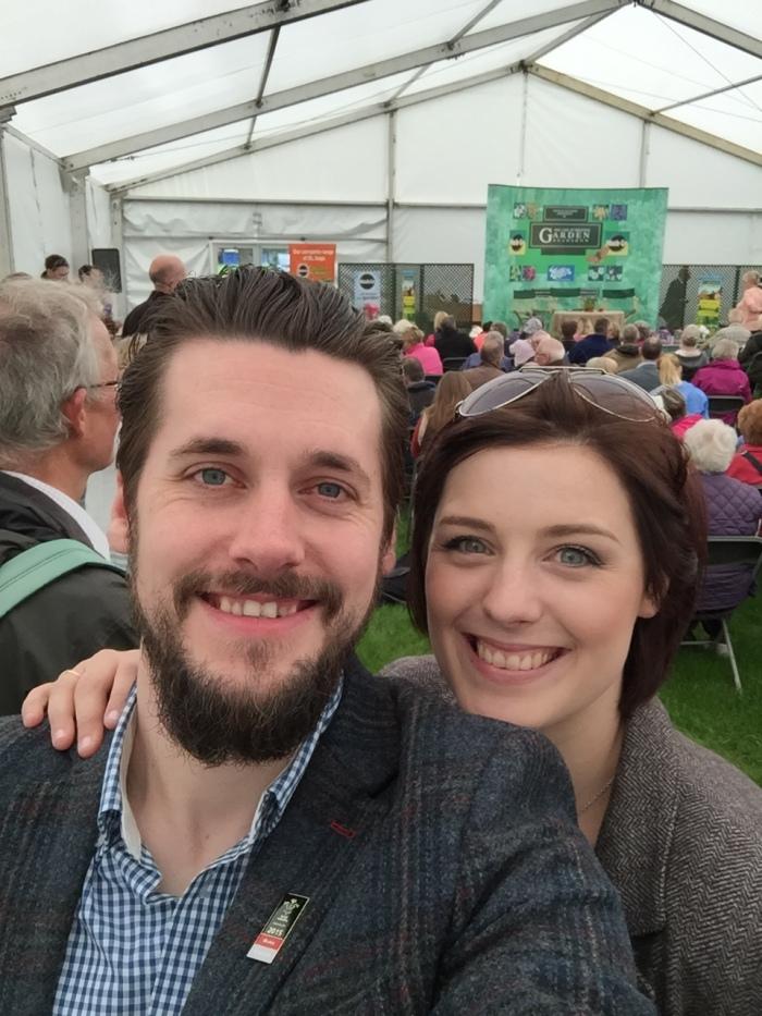 Holker Garden Festival |Mr & Mrs B at James Wong's Talk
