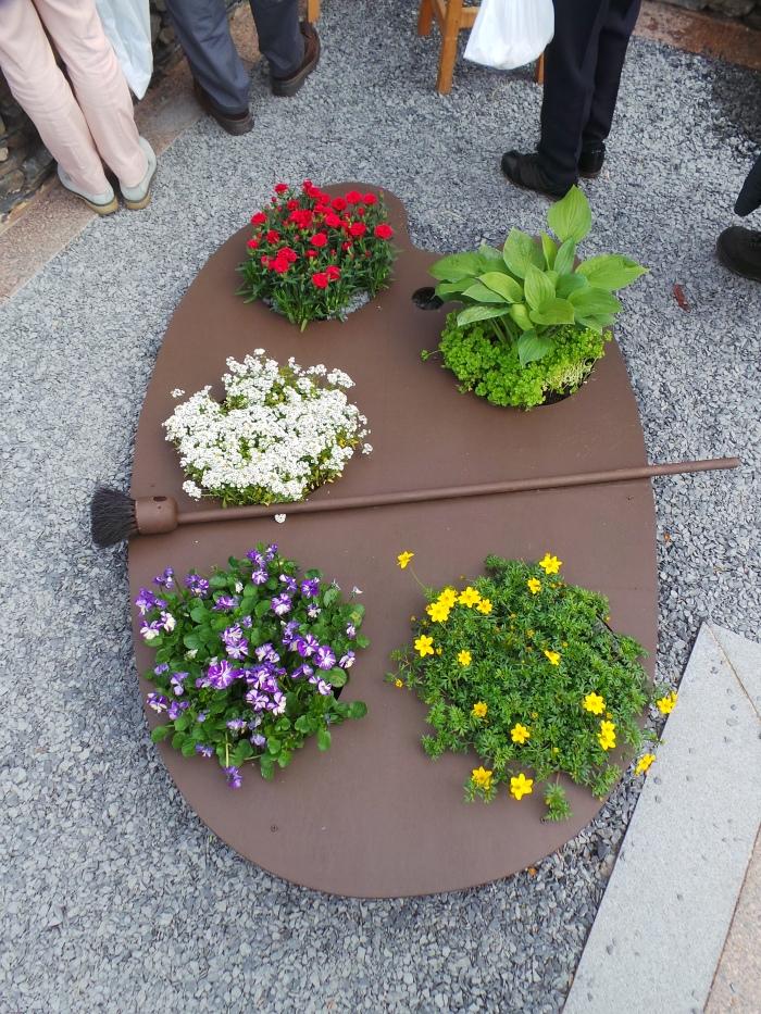 Holker Garden Festival | My Kind of colour pallet