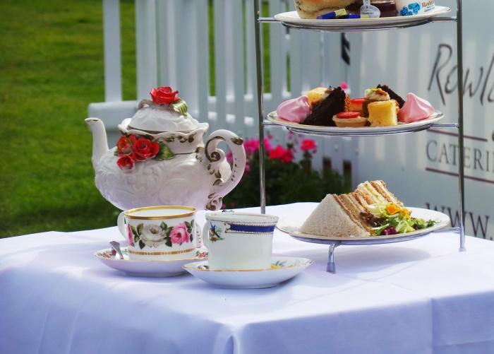Holker Garden Festival | Tea for two