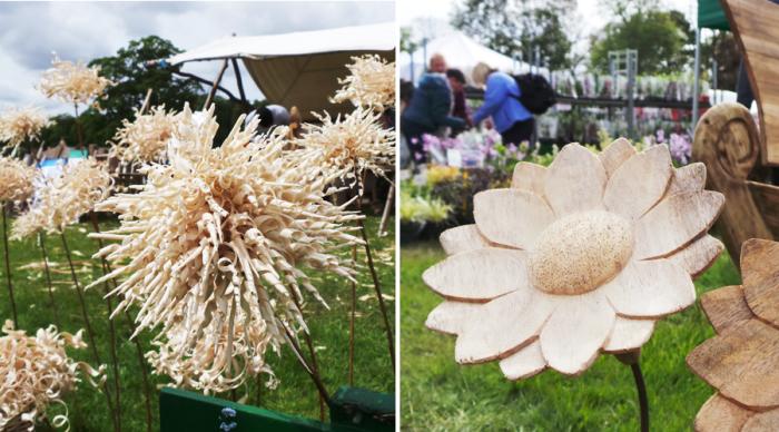 Holker Garden Festival |Wooden Plants