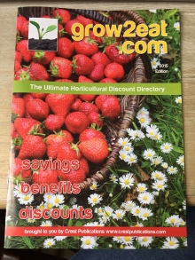 Grow2eat directory front cover